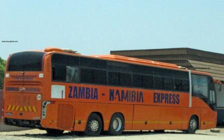 Zambia to Namibia Express